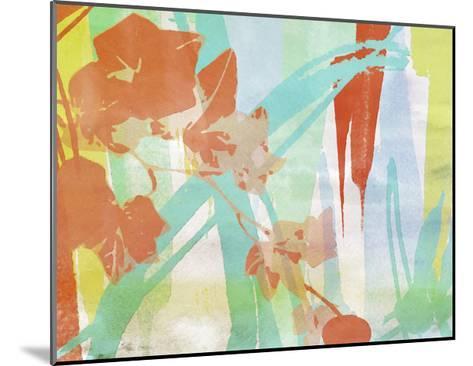 A Leaf Was Born I-Irena Orlov-Mounted Art Print