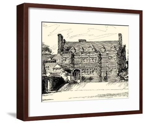 English Architecture III-Reginald Blomfield-Framed Art Print