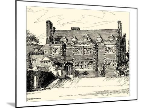 English Architecture III-Reginald Blomfield-Mounted Art Print