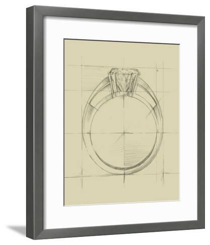 Ring Design I-Ethan Harper-Framed Art Print