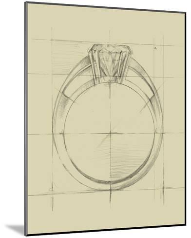 Ring Design I-Ethan Harper-Mounted Art Print