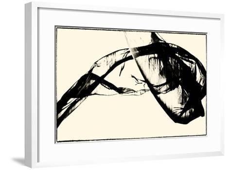 Silk Ink V-Tang Ling-Framed Art Print