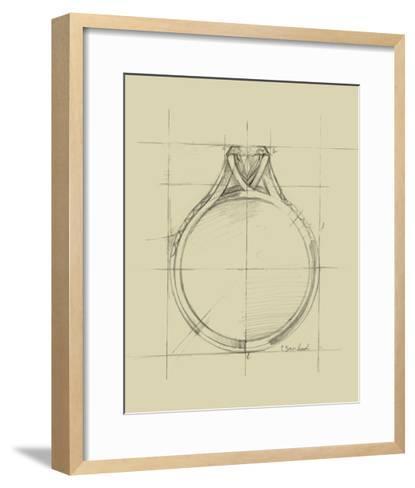 Ring Design II-Ethan Harper-Framed Art Print