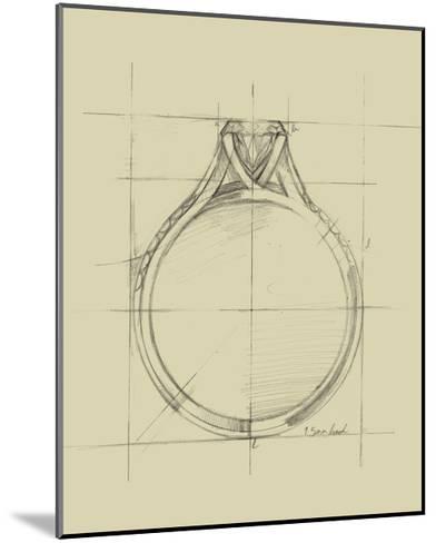 Ring Design II-Ethan Harper-Mounted Art Print