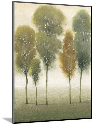 Beyond the Trees I--Mounted Art Print