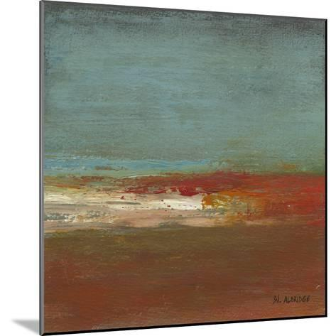 Sea Horizon III-W^ Green-Aldridge-Mounted Art Print