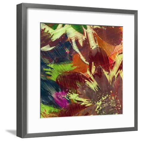 Floragraph IV-James Burghardt-Framed Art Print