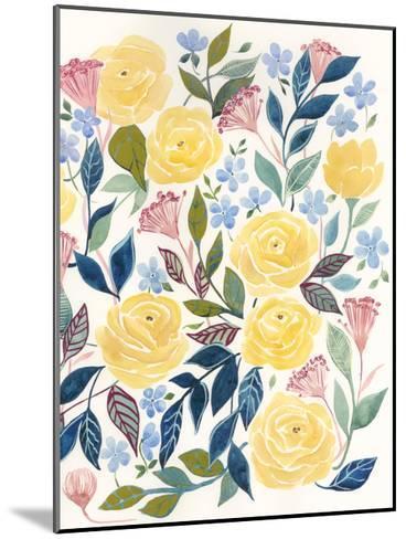 Unbound Blossoms II-Grace Popp-Mounted Art Print