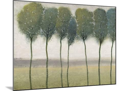 Row of Trees I--Mounted Art Print