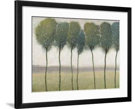 Row of Trees I--Framed Art Print