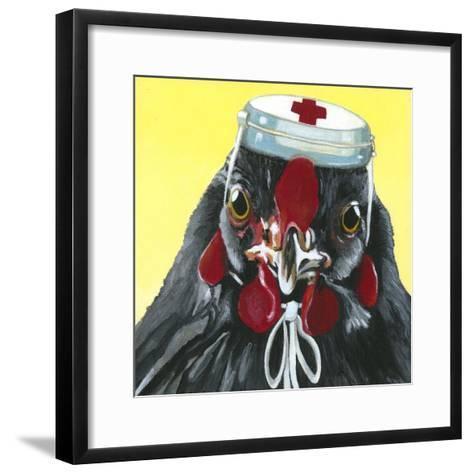 You Silly Bird - Mama-Dlynn Roll-Framed Art Print