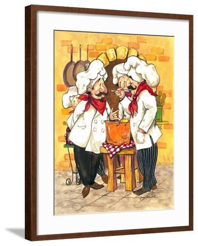 Soup Chefs-Jerianne Van Dijk-Framed Art Print