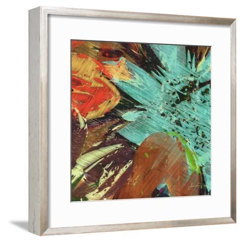 Floragraph VI-James Burghardt-Framed Art Print