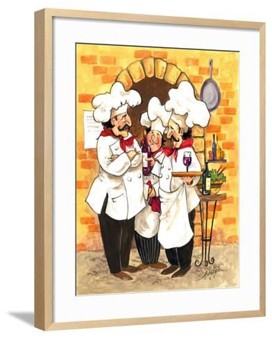 Wine Chefs-Jerianne Van Dijk-Framed Art Print