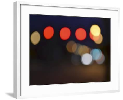 Bokeh Abstract IV-Sharon Chandler-Framed Art Print