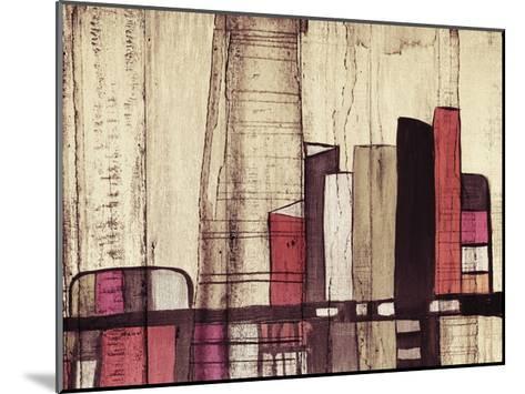 Inner City I-Irena Orlov-Mounted Art Print