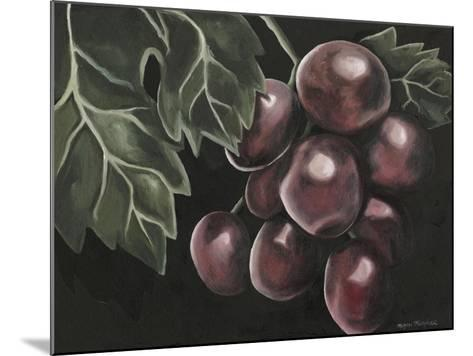 Midnight Grapes-Megan Meagher-Mounted Art Print