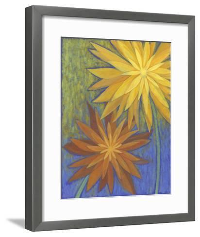 Floral Burst II-Megan Meagher-Framed Art Print