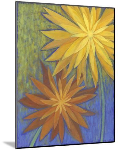 Floral Burst II-Megan Meagher-Mounted Art Print