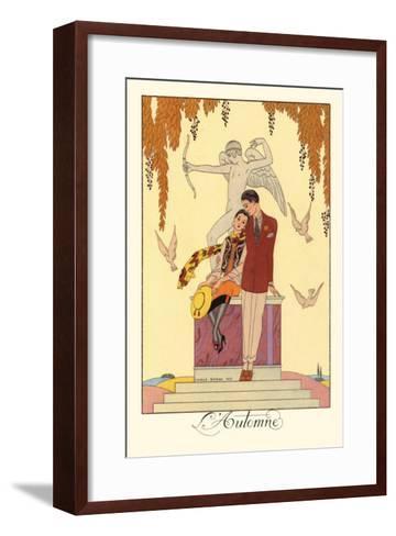 L'Automne-Georges Barbier-Framed Art Print