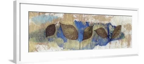 Leaf Banner III-Elena Ray-Framed Art Print