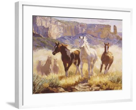 Out of the Mist-Claire Goldrick-Framed Art Print
