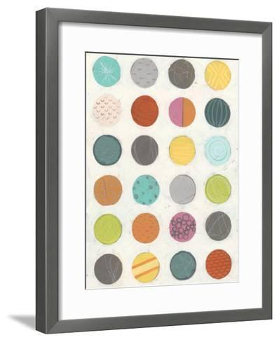 Pattern Interaction III-June Vess-Framed Art Print