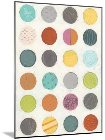 Pattern Interaction III-June Vess-Mounted Art Print