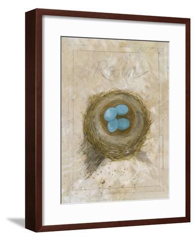 Nest - Robin-Elissa Della-piana-Framed Art Print