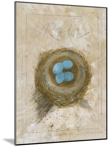 Nest - Robin-Elissa Della-piana-Mounted Art Print