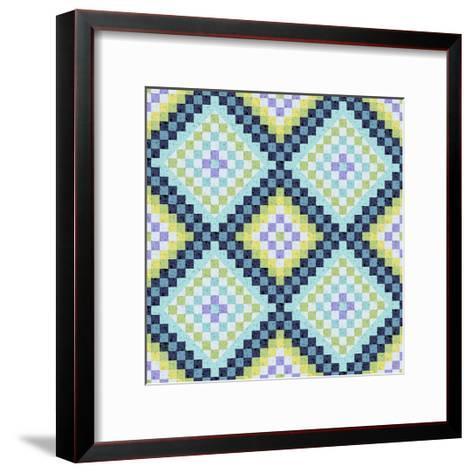 Vintage Geo II-Katia Hoffman-Framed Art Print