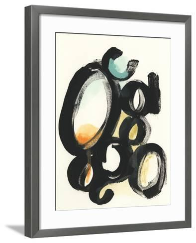 Cellular Structure I-June Vess-Framed Art Print