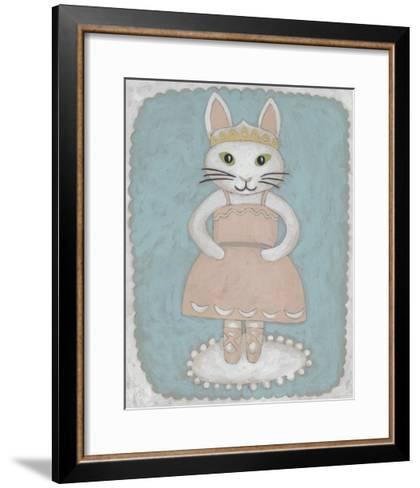 Ballerina Animal II-Chariklia Zarris-Framed Art Print