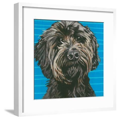 Dlynn's Dogs - Mini-Dlynn Roll-Framed Art Print
