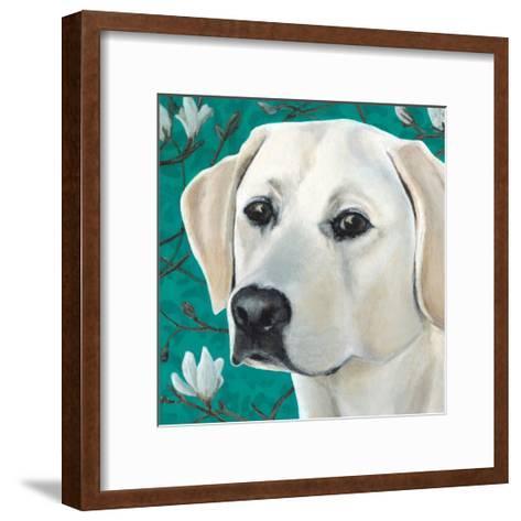 Dlynn's Dogs - Magnolia-Dlynn Roll-Framed Art Print