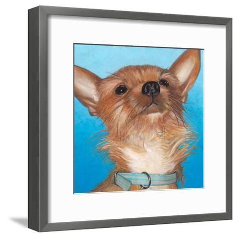 Dlynn's Dogs - Gratitude-Dlynn Roll-Framed Art Print