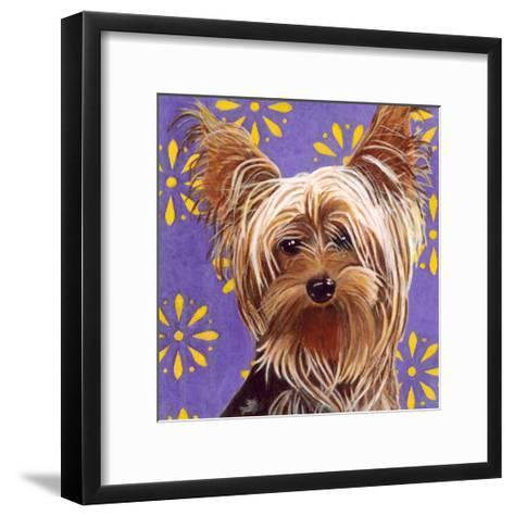 Dlynn's Dogs - Ringo-Dlynn Roll-Framed Art Print
