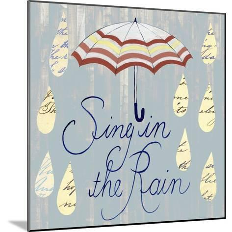 Rainy Day IV-Grace Popp-Mounted Art Print