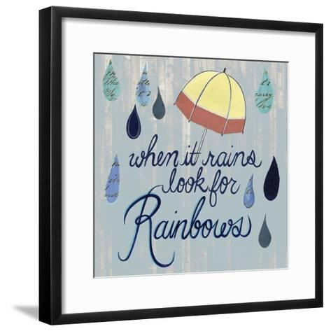 Rainy Day I-Grace Popp-Framed Art Print