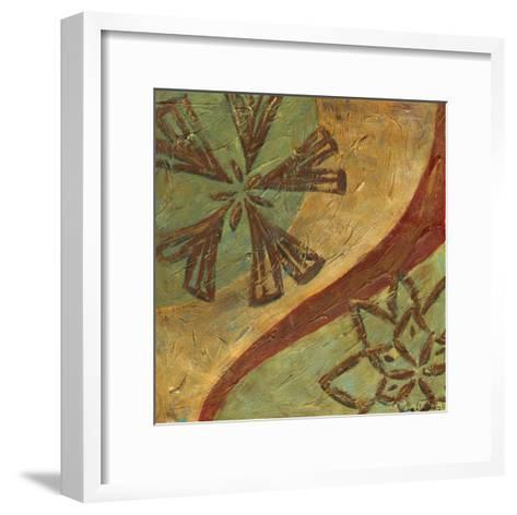 Lattice work IV-Chariklia Zarris-Framed Art Print