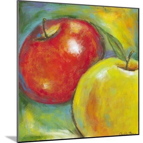 Abstract Fruits IV-Chariklia Zarris-Mounted Art Print