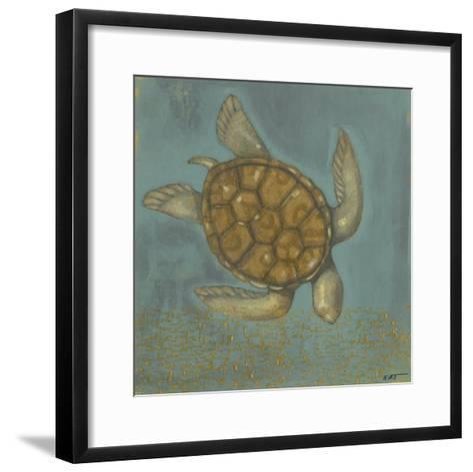 Sea Turtle I-Norman Wyatt Jr^-Framed Art Print