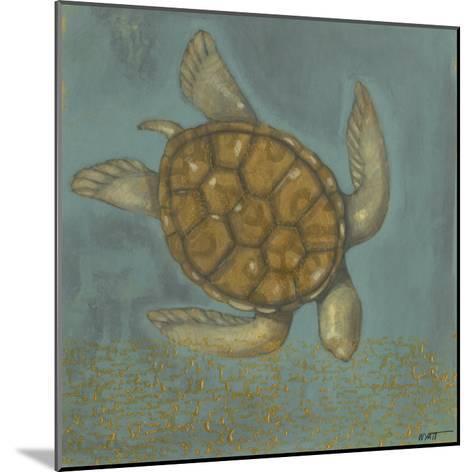 Sea Turtle I-Norman Wyatt Jr^-Mounted Art Print