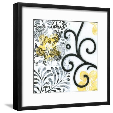 Opulence II-Norman Wyatt Jr^-Framed Art Print