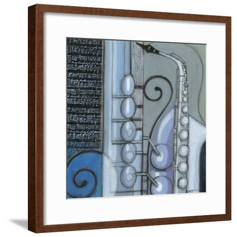 Cool Jazz IV-Norman Wyatt Jr^-Framed Art Print