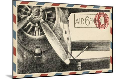 Small Vintage Airmail II-Ethan Harper-Mounted Art Print