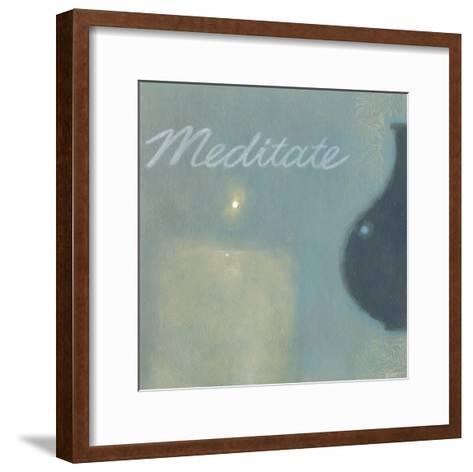 Meditate-Norman Wyatt Jr^-Framed Art Print