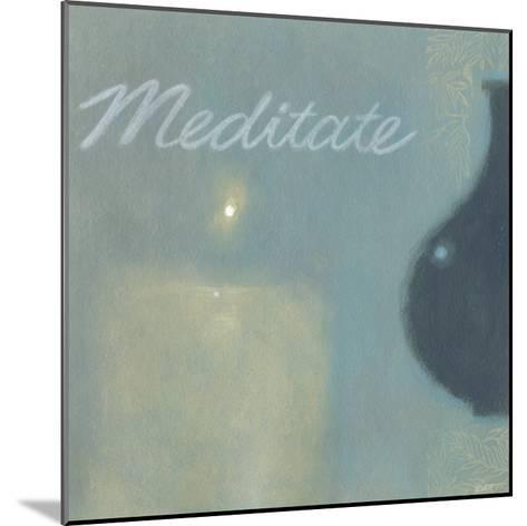 Meditate-Norman Wyatt Jr^-Mounted Art Print