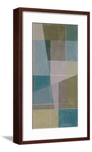 Linear Illusion I-Jennifer Goldberger-Framed Art Print