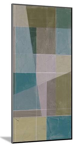 Linear Illusion I-Jennifer Goldberger-Mounted Art Print